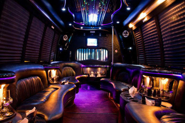 15 Person Party Bus Rental Atlantic City