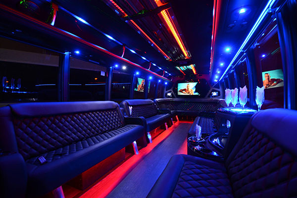 40 Person Party Bus Rental Atlantic City
